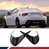 JC SPORTLINE Carbon Tail Lights Cover for Subaru BRZ 2013-2020 Scion FR-S 2012-2016 Toyota 86 FT86 GT86 2012-2020 Lamps Lights Cover Body Kits Factory Outlet (Rear Lamp Eyelids)