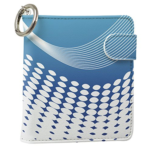 スマコレ IQOS専用 レザーケース 従来型/新型 2.4PLUS 専用 ケース カバー 合皮 カバー 収納 クール ライン 水玉 001755