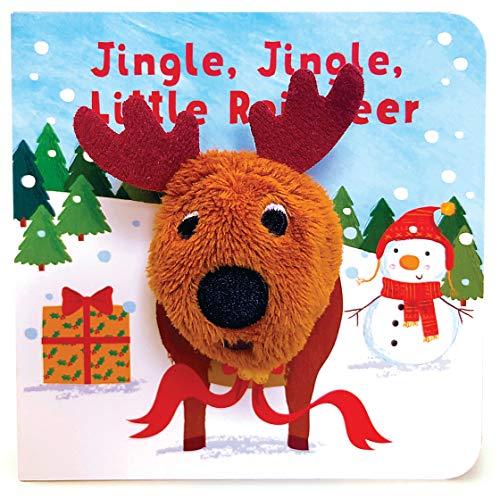 Jingle, Jingle, Little Reindeer (Finger Puppet Board Book)