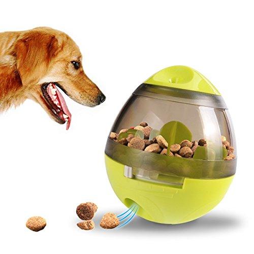 ALAMP Hundespielzeug Ball Interaktives Hundespielball Leckerli-Spender Snackball gegen Langeweile für Hunde und Welpen