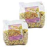 2 kg de muesli con fruta la fuerza natural de los cereales, ideales para el primer desayuno y para realizar barritas a base de muelli y cereales