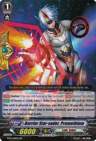 Cardfight!! Vanguard TCG - Barrier Star-vader, Promethium (BT12/014EN) - Binding Force of the Black Rings by Bushiroad Inc.