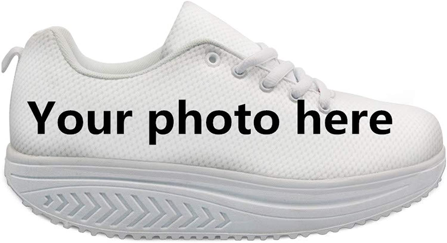 Bigcardesigns Cool High Platform Women's Shape Ups Toning Fitness Walking shoes Sport Sneaker