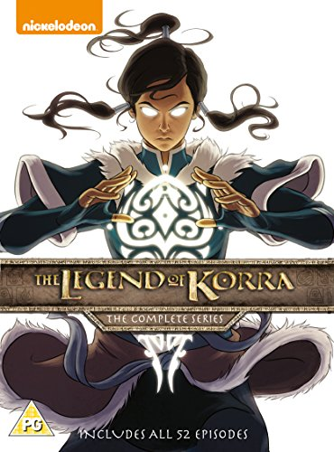 The Legend Of Korra: The Complete Series (5 Dvd) [Edizione: Regno Unito] [Edizione: Regno Unito]