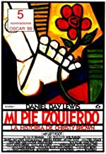My Left Foot Movie Poster (11 x 17 Inches - 28cm x 44cm) (1989) Spanish Style A -(Daniel Day-Lewis)(Brenda Fricker)(Ray McAnally)(Cyril Cusack)(Fiona Shaw)(Hugh O'Conor)