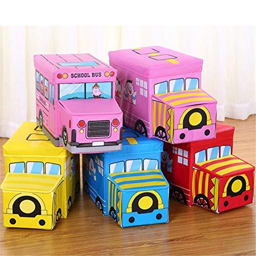 Caja para guardar juguetes, caja de juguetes para niños y jóvenes, perfecta para guardar la casa, tejidos o juguetes para la escuela materna, sala de juegos, armario
