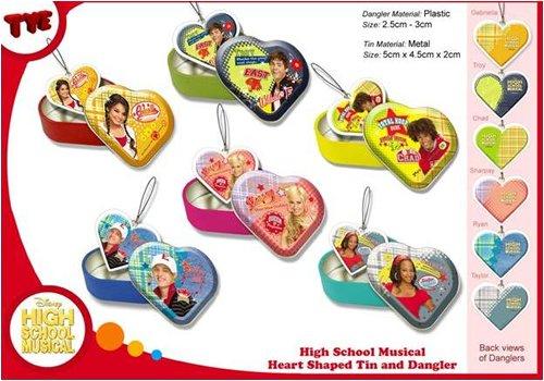 Überraschungskugel Disney High School Musical Anhänger 18er Display