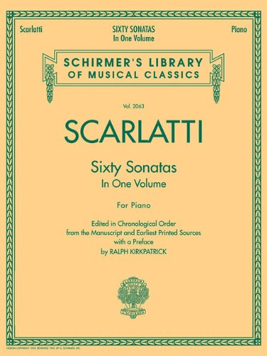 60 Sonatas, Books 1 and 2: Schirmer Library of Classics Volume 2063 (Schirmer's Library of Musical Classics)
