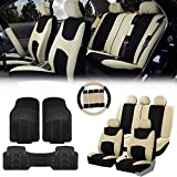 FH Group FB030115 Light & Breezy Cloth Seat...