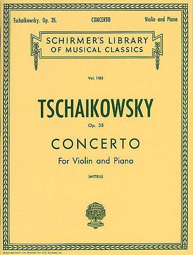 TCHAIKOVSKY - Concierto Op.35 en Re Mayor para Violin y Piano (Mittell) (*)