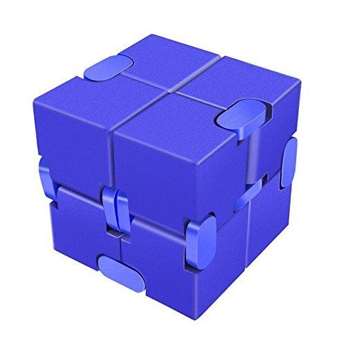 [LilBit] Infinity Cube インフィニティキューブ 無限キューブ アルミニウム合金 (青)