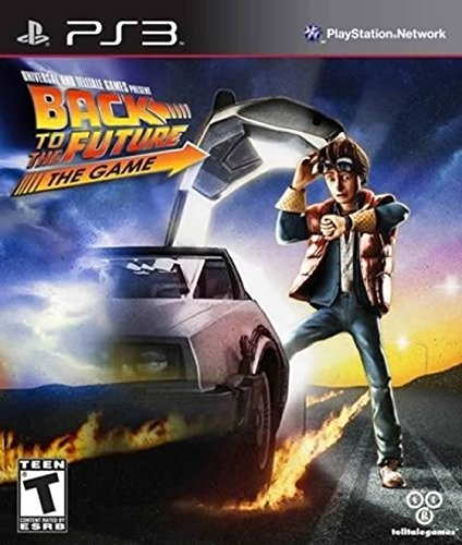 Back to the Future- The Game - Playstation 3 by Telltale Games