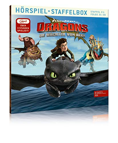 Dragons - Die Wächter von Berk - mp3-Staffelbox 2.1 (Folgen 21 - 30) - Das Original-Hörspiel zur TV-Serie