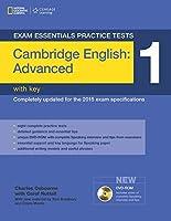 Cambridge English Advanced Practice Tests 1 + Answer Key (Exam Essentials Practice Tests)