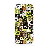 Estuche para iPhone 5/5S/SE Star Wars, Guerra de Las Galaxias, Original con Licencia Oficial, Carcasa, Funda, Estuche de Material sintético TPU-Silicona, Protege de Golpes y rayones