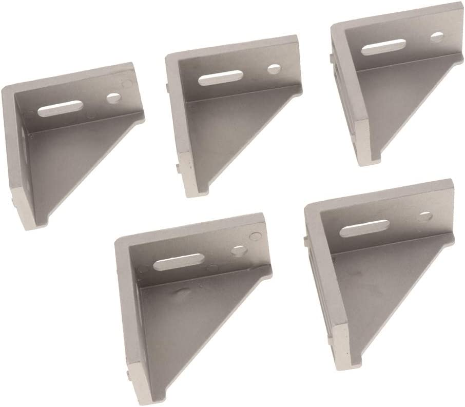 F Fityle 5pk Aluminum Profile Corner Right L Cheap super special price Angl Discount mail order Shaped Bracket