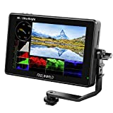 FEELWORLD LUT7 7 Inch Ultra Bright 2200nit Touch Screen Camera DSLR Field Monitor with 3D Lut Waveform Vectorscope Automatic Light Sensor 1920x1200 Video Assist 4K HDMI Input 8.4V DC Output Tilt Arm