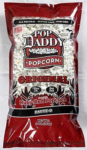 Pop Daddy, Popcorn Original Olive Oil Sea Salt, 5 Ounce