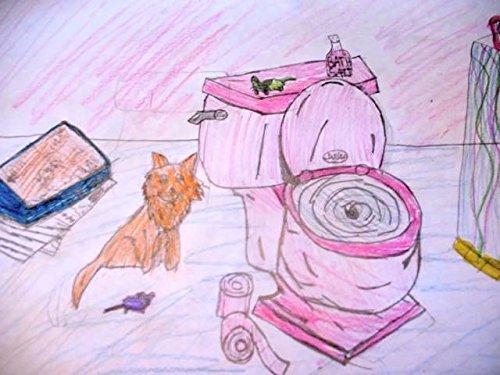 Cat Flushing A Toilet - Video Art Exhibit