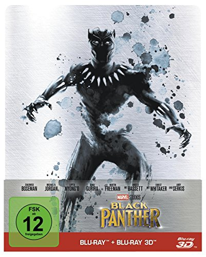 Black Panther - Steelbook Edition [Blu-ray 2D/3D]