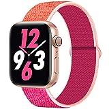 Qunbor Armband Kompatibel mit Apple Watch 38mm 40mm 42mm 44mm Für die iWatch Series 5 4 3 2 1...
