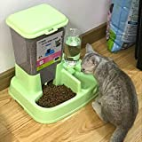 N-B Pet Feeder Self-Service Labrador Cats and Dogs Canine Automatics Household Dogs Water Basin Feeder Indoor Environmental Protection