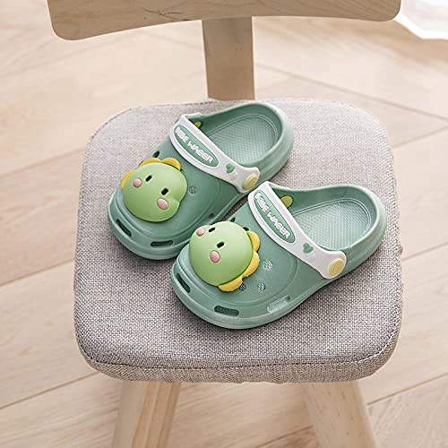COQUI Clogs niño,Zapatillas para niños Zapatos de Cuevas de Verano, niñas, niñas, niñas, pequeña, Infantil, Interior, aislados, Zapatos de Fondo Inferiores-Trono Azul_20 y 25 Yardas