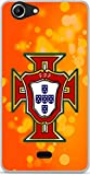 Soft TPU Gel Case for Wiko Pulp Fab 4G Portugal Football
