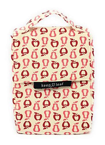 Lunch Bag isotherme en coton bio - Fruits - KEEP LEAF