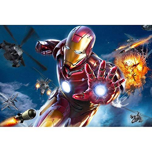 Puzzles 3d Iron Man Metal