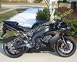 YZF1000 R1 04-06 Kit de carenado popular para Yamaha YZF R 1 YZF-R1 2004-2006 YZFR1 carenados negros (moldeo por inyección)