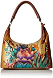 Anuschka Women's Genuine Leather Bag | Top Zip Hobo/Shoulder Bag | Desert Sunset