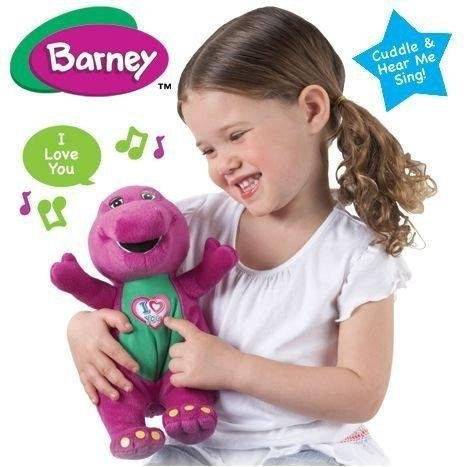 Singing Barney Te Quiero Peluche Plush