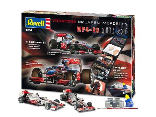 Revell Modellbausatz 05717 - Geschenkset McLaren Mercedes im Maßstab 1:24