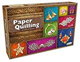 This paper craft kit is ideal for 5+ girl kids and a perfect Paper Quilling Jewellery Making kit. It helps novice paper crafter to kick-start their paper craft projects in no time. Enable kids to make range of fascinating jewelleries that can be worn...