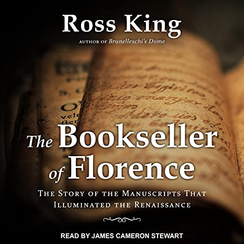 The Bookseller of Florence Audiobook By Ross King cover art