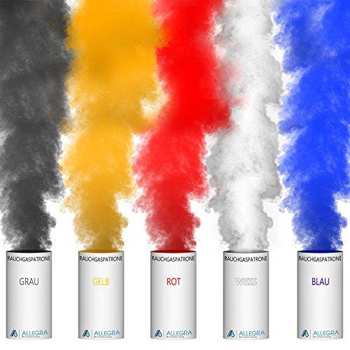 ALLEGRA Farbige Rauchpatronen Bunt Gemischt XXL 3-4min