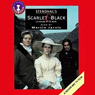 Scarlet and Black audiobook cover art