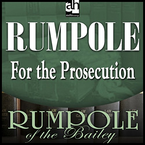 Rumpole for the Prosecution audiobook cover art