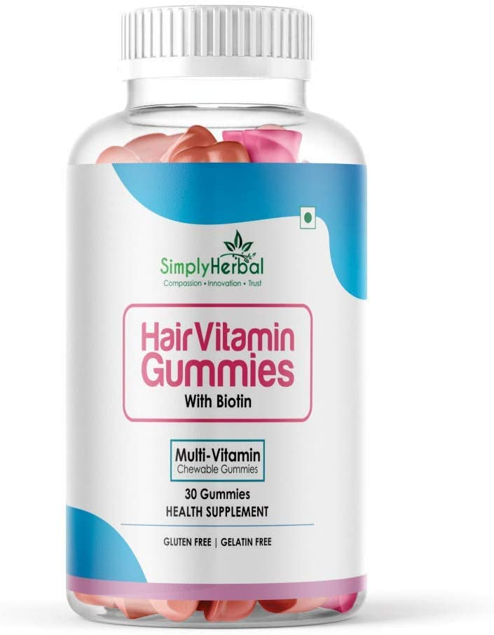The Choice Simply Popular brand Herbal Hair Gummies Biotin 1 Limited time for free shipping Vitamin