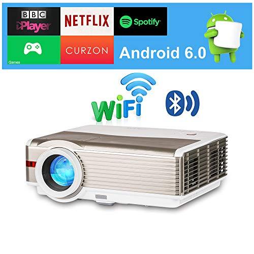 Projecteur de Film Bluetooth Wxga 2019 LED Android...