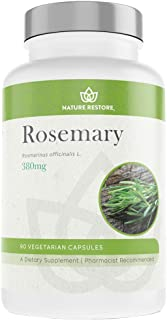 Rosemary Extract Supplement, Standardized to 20 Percent Carnosic Acid, 90 Capsules, Manufactured in USA, No...