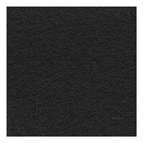 DECOWEB Moquette Stand Exposition/Événement, Noir, 2m x 10m