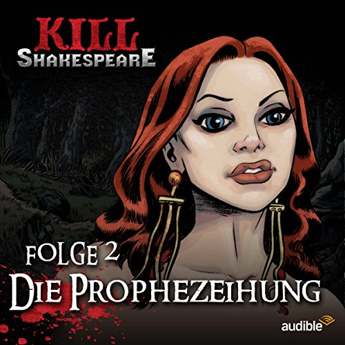Die Prophezeihung audiobook cover art