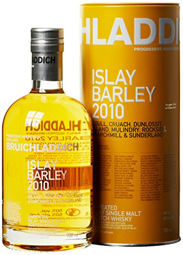 Bruichladdich Islay Barley 2010 - Single Malt Whisky (1 x 0.7 l)