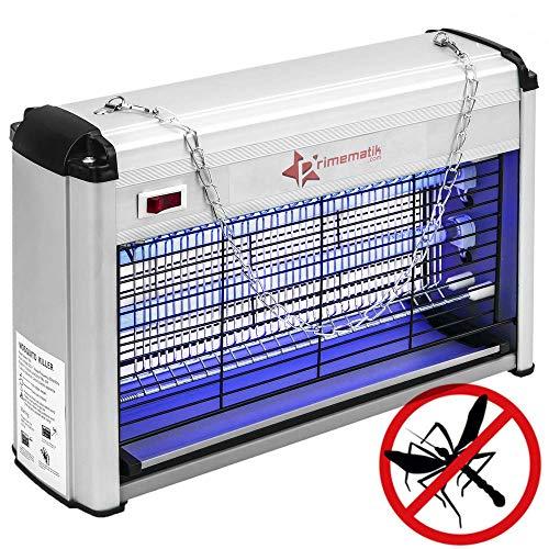 PrimeMatik - Insektenkiller Insektenvernichter Lampe Insektenlampe fliegen fenger und Fliegen 16 W