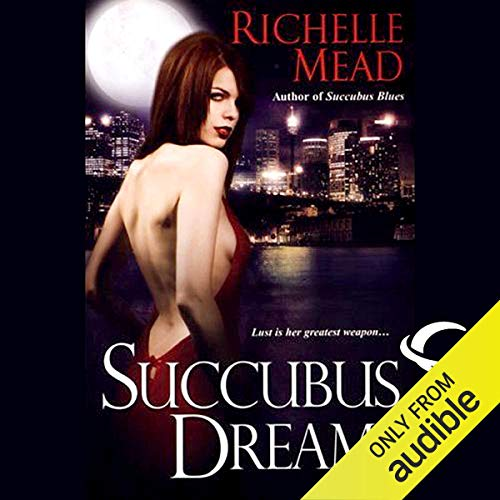 Succubus Dreams audiobook cover art