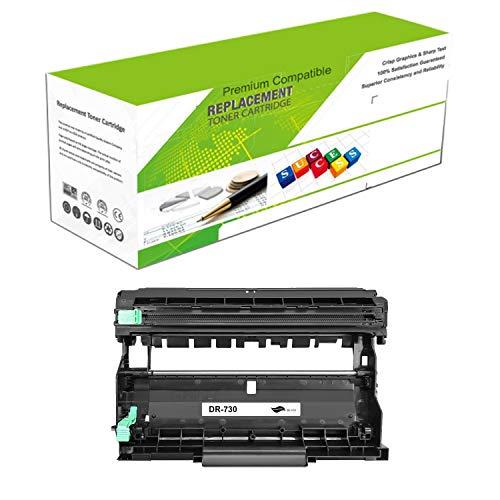 ReManufactured Toner Drum for DR-730 | Compatible Drum Replacement for Brother DCP-L2550DW, Brother MFC-L2710DW/L2730DW/L2750DW/L2750DWXL | Standard Yield Laser Printer by Premium Ink&Toner