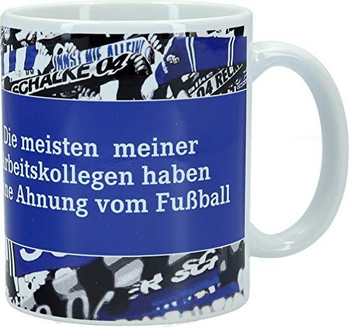 FC Schalke 04 Kaffeebecher Die meisten meiner Arbeitskollegen 0,3l