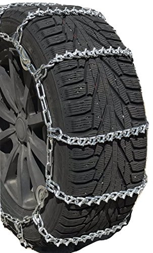 TireChain.com 245//75R22.5 245 75R22.5 Dual Tire Chains Set of 2